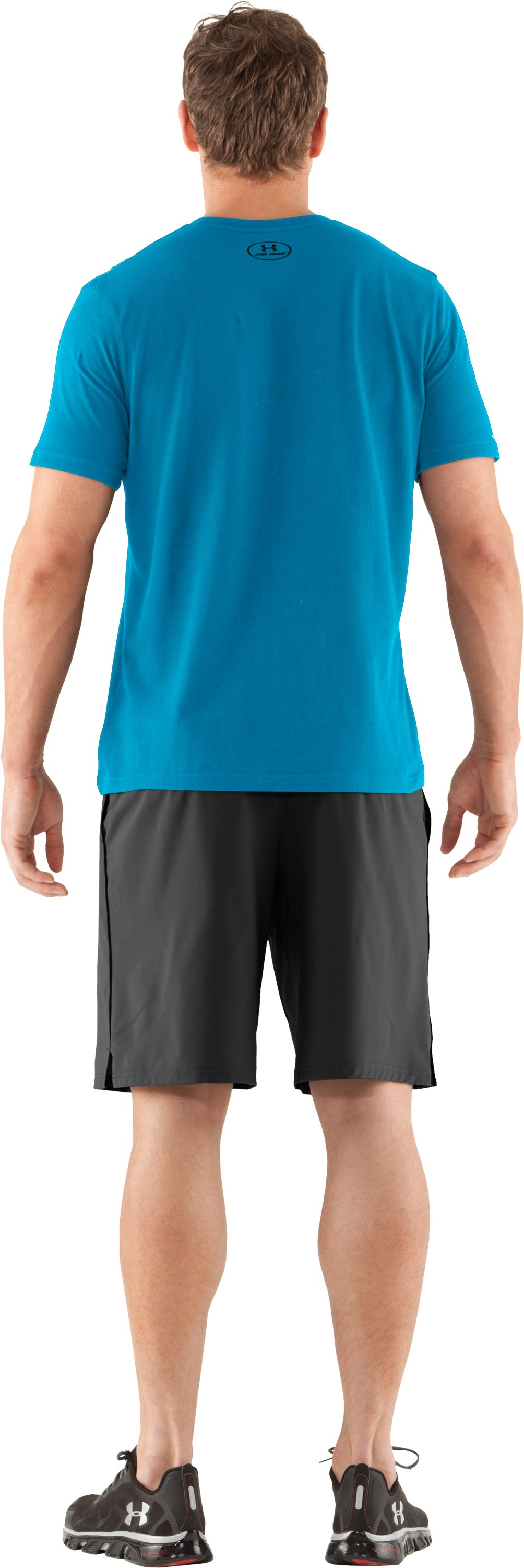 Men's Charged Cotton® T-Shirt, SNORKEL, Back