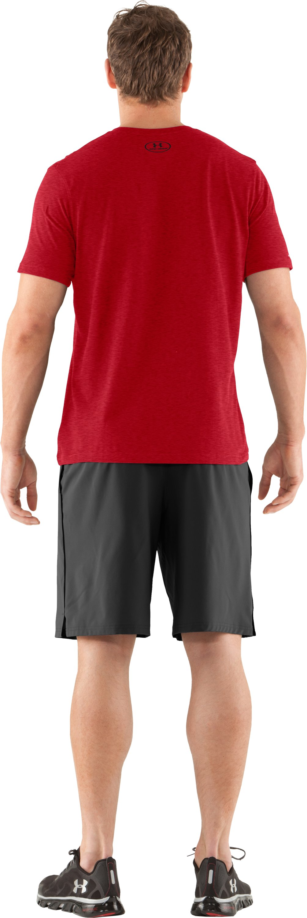 Men's Charged Cotton® T-Shirt, Red, Back