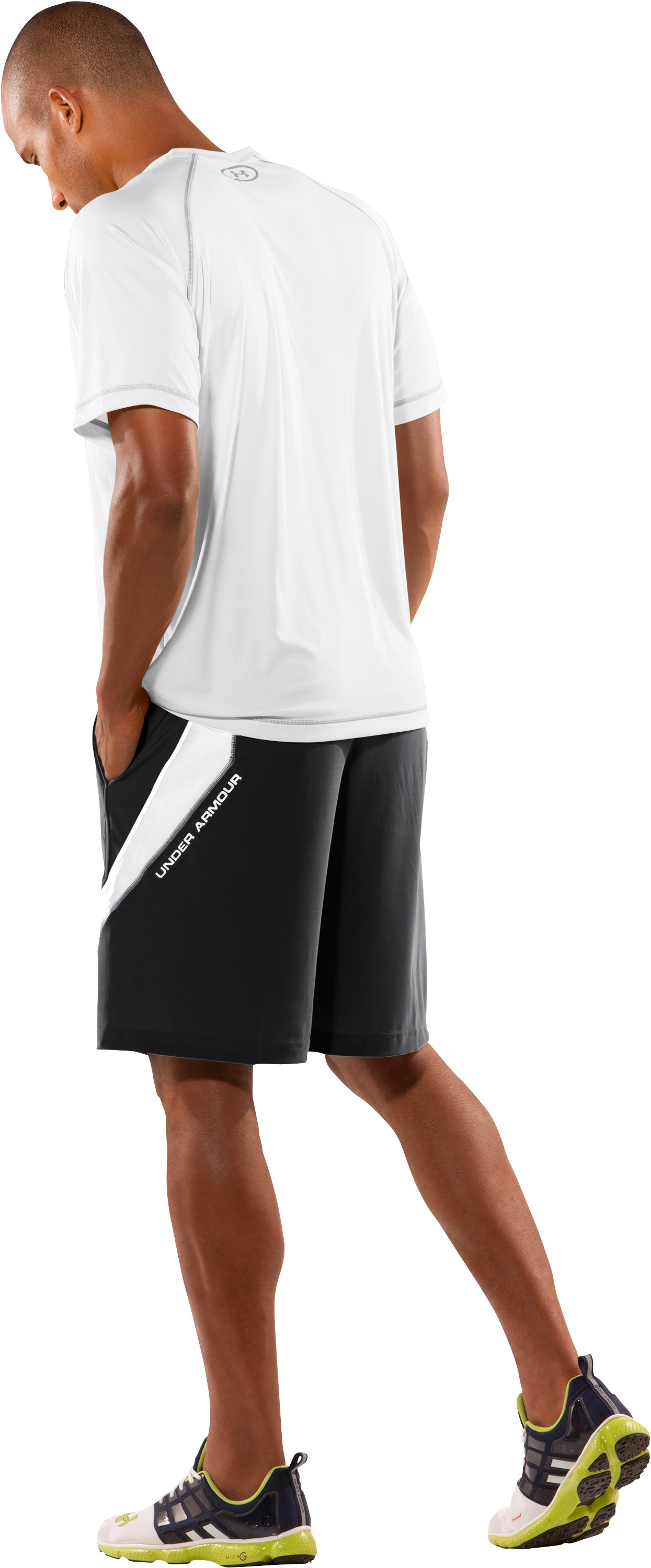 Men's UA Blitz Microshorts II, Black , Back