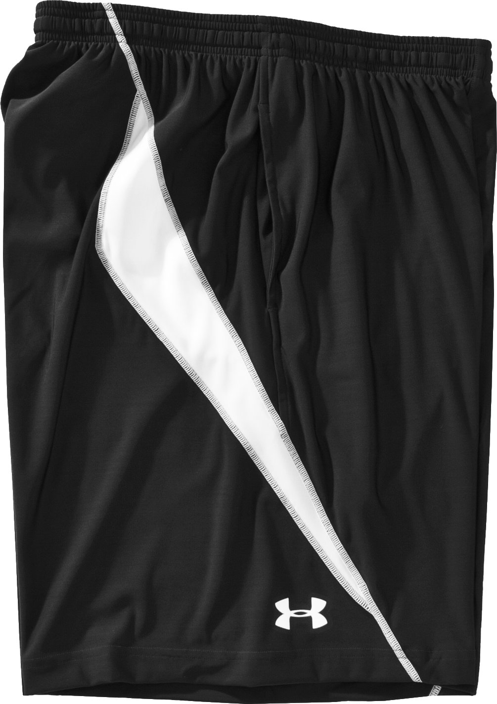 Men's UA Blitz Microshorts II, Black , Laydown