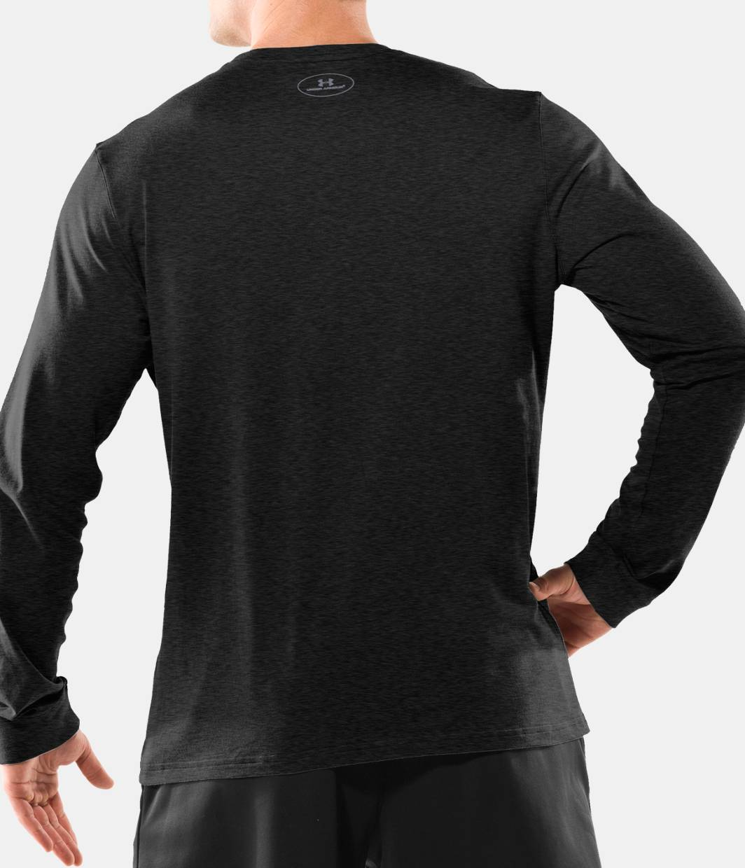 Men S Ua Charged Cotton Long Sleeve T Shirt Under Armour Us