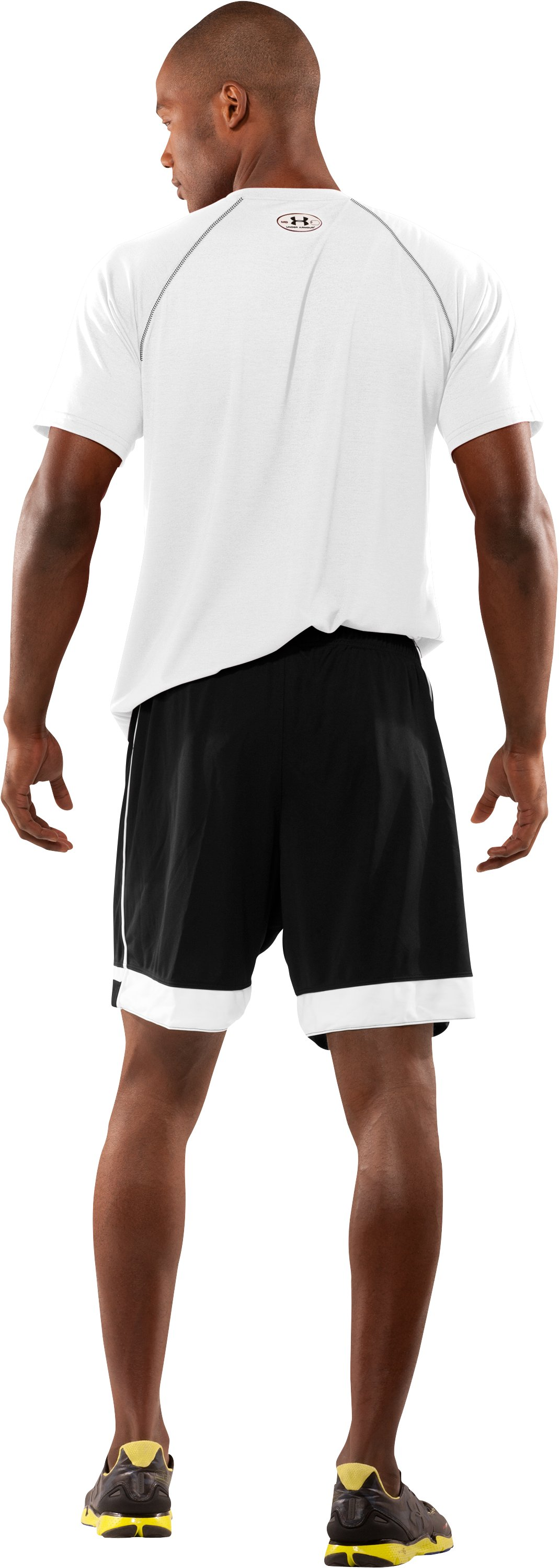 Men's UA Introducta Shorts, Black , Back