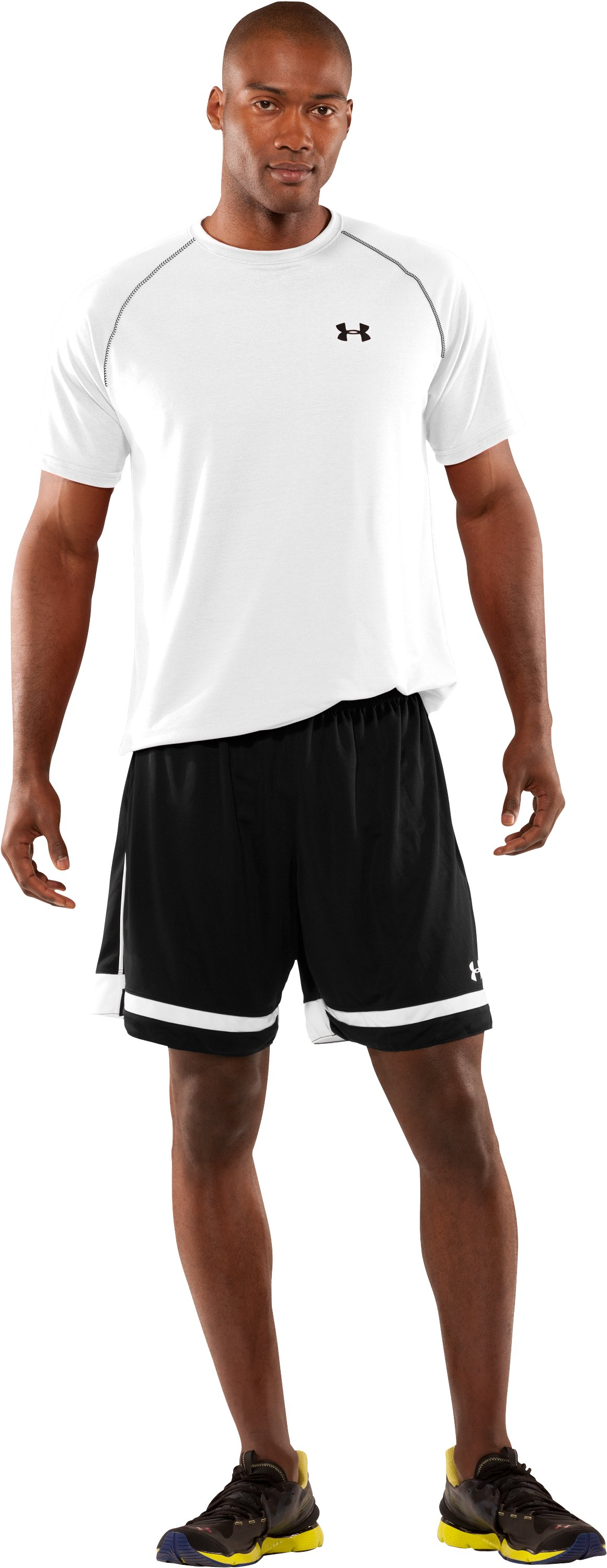 Men's UA Introducta Shorts, Black , Front