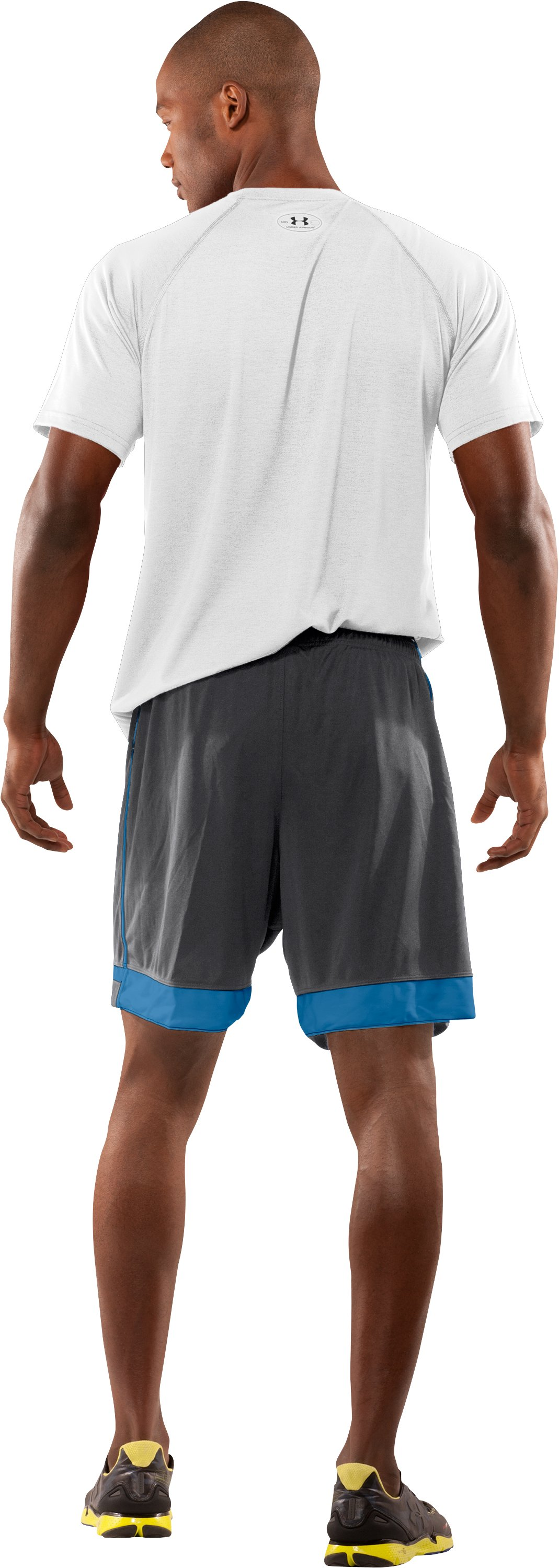 Men's UA Introducta Shorts, Graphite, Back