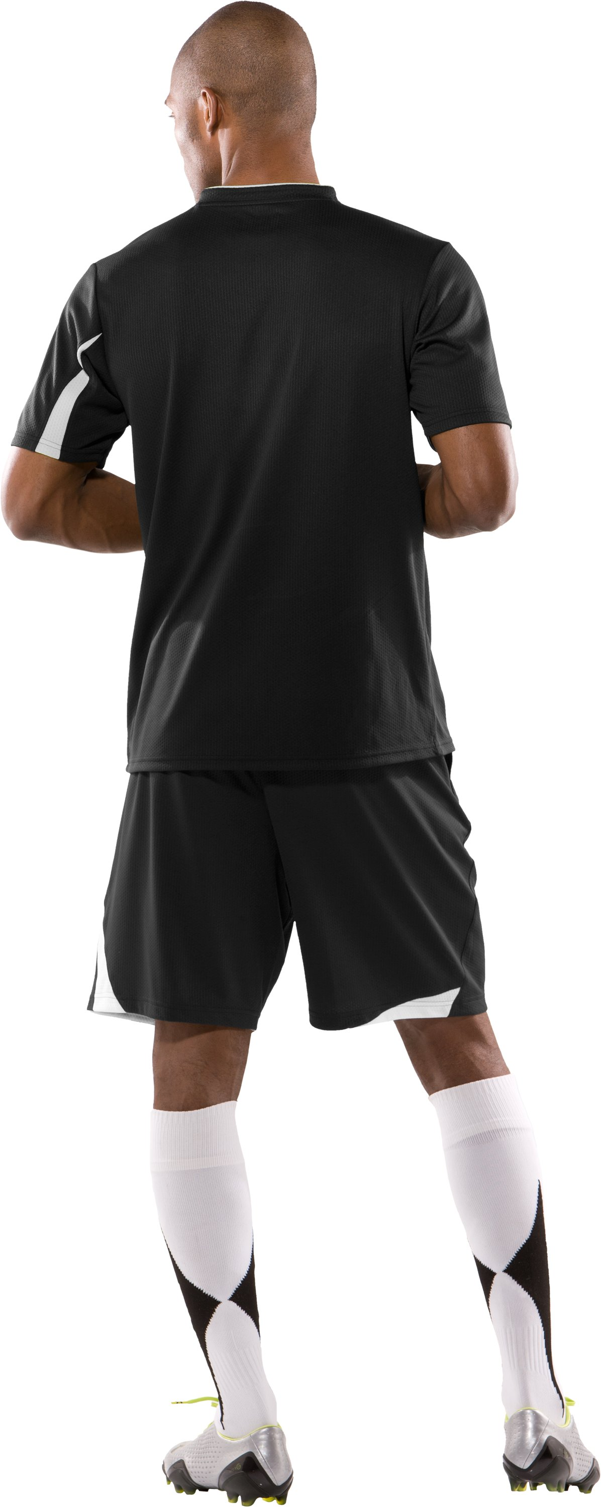 "Men's 10KForce 9"" Shorts, Black , Back"
