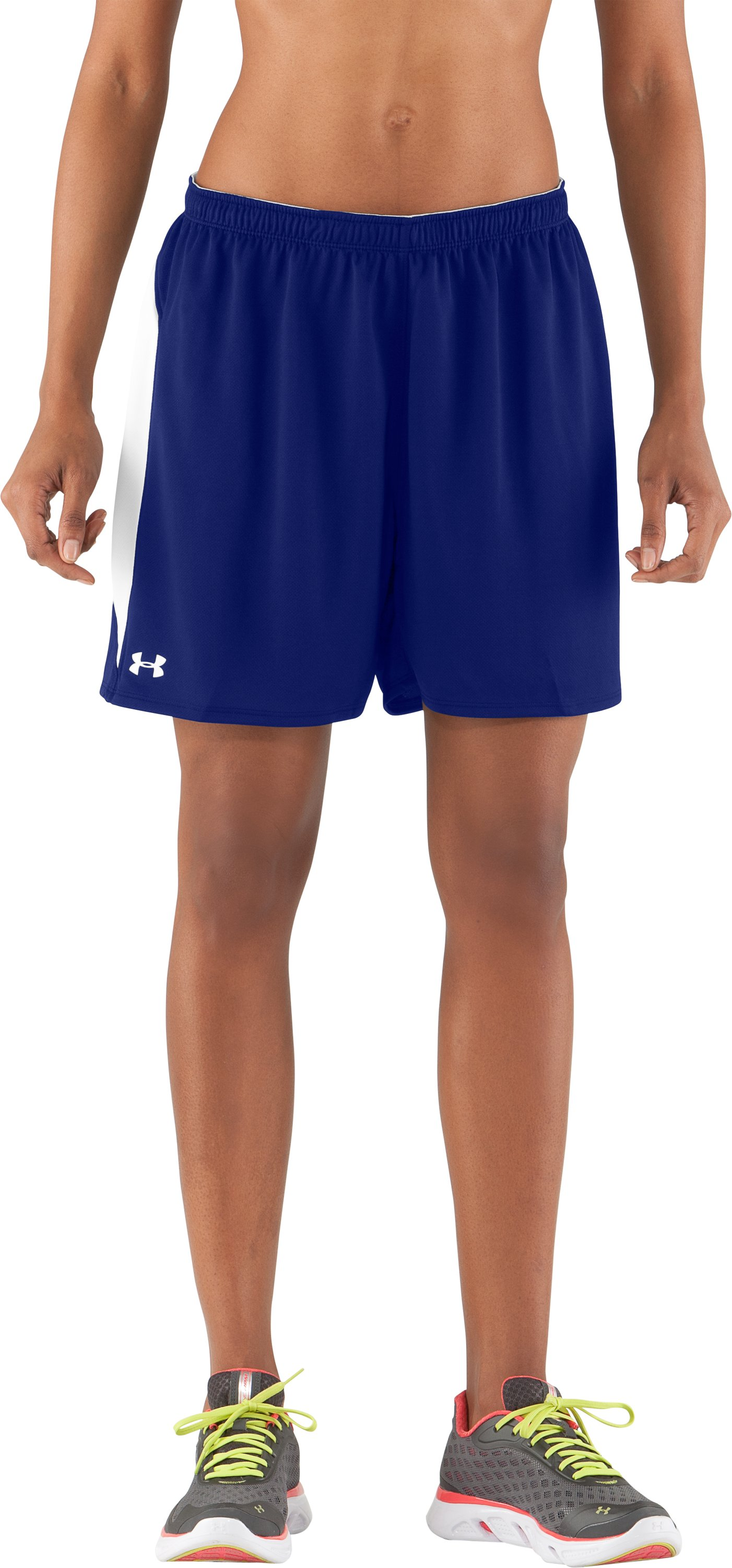 "Women's UA Clutch 5"" Shorts, Royal, zoomed image"