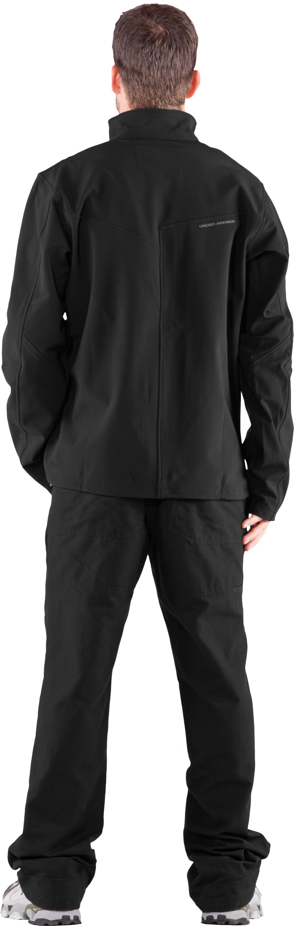 Men's WWP Jacket, Black , Back