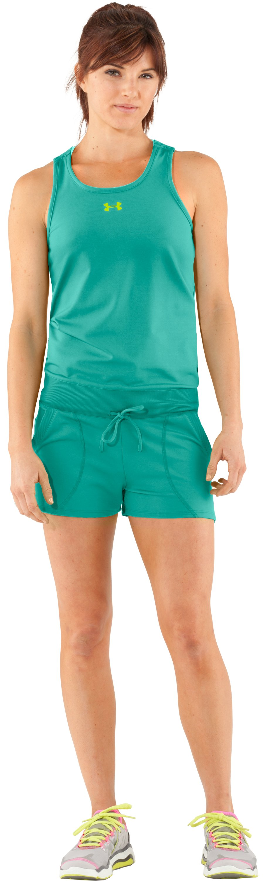 Women's UA Tennis Romper, Jade River