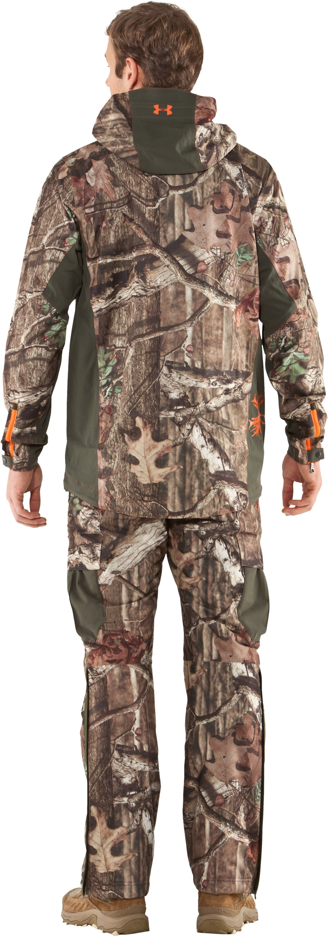 Men's Ridge Reaper® Shell Camo Hunting Jacket, Mossy Oak Break-Up Infinity, Back