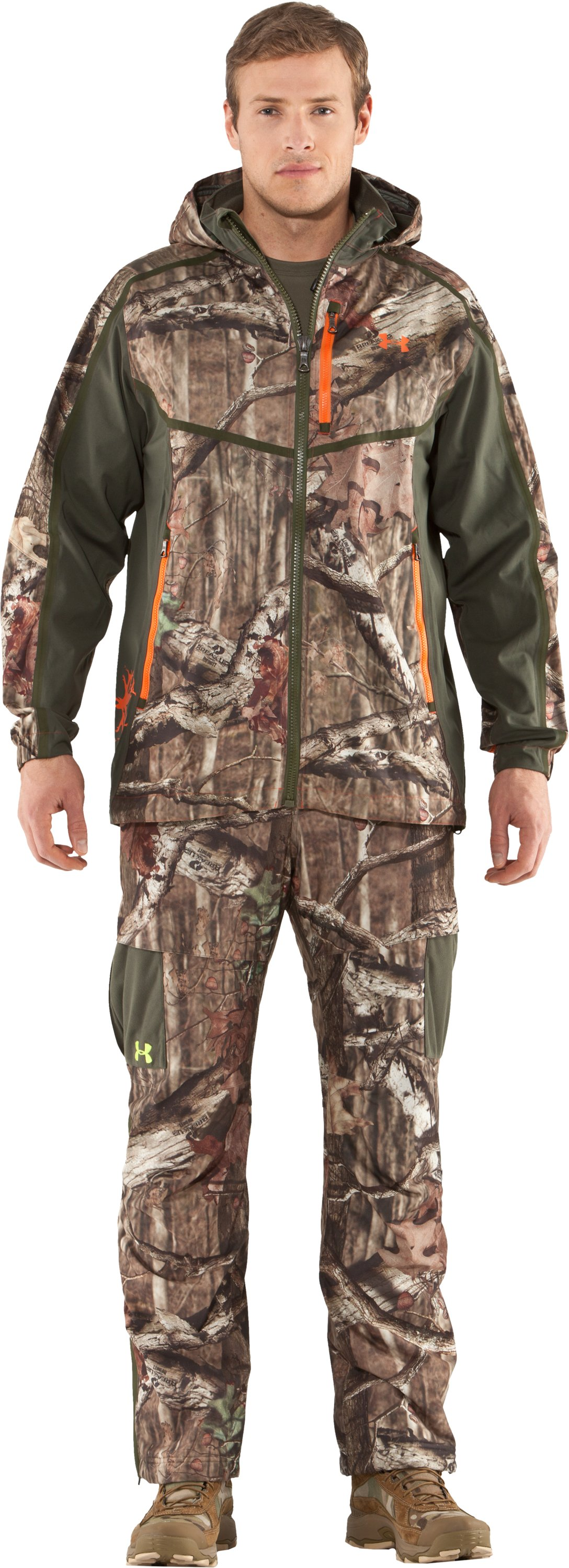Men's Ridge Reaper® Shell Camo Hunting Jacket, Mossy Oak Break-Up Infinity, Front