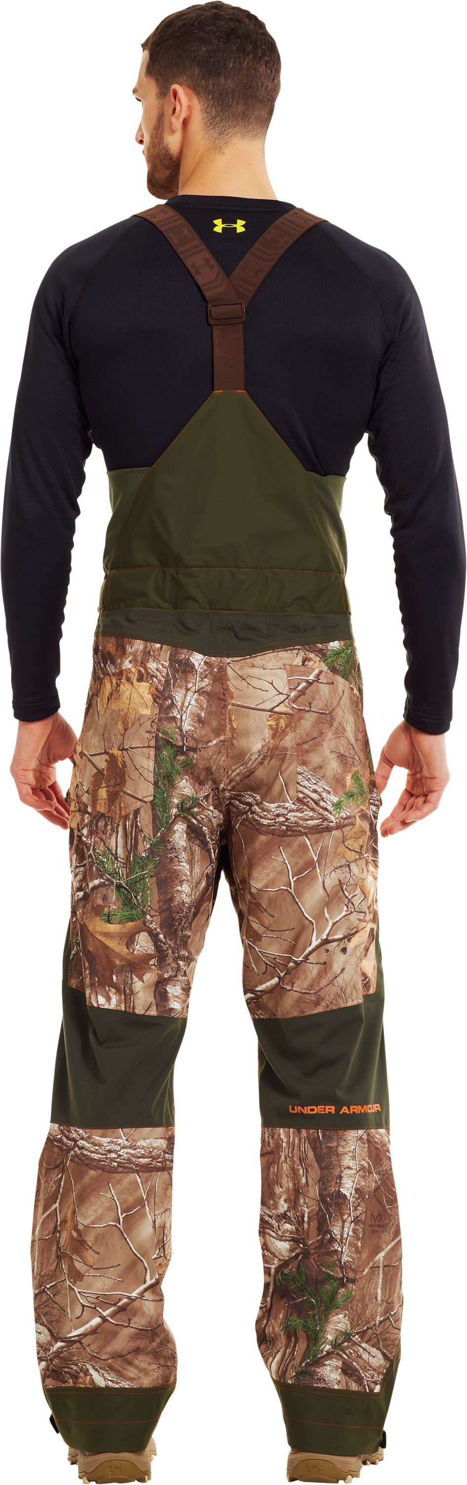 Men's Ridge Reaper® Shell Camo Hunting Bib, REALTREE AP-XTRA, Back