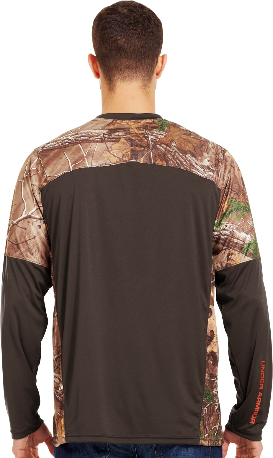 Men's Wylie Long Sleeve Hunting Shirt, Timber, Back