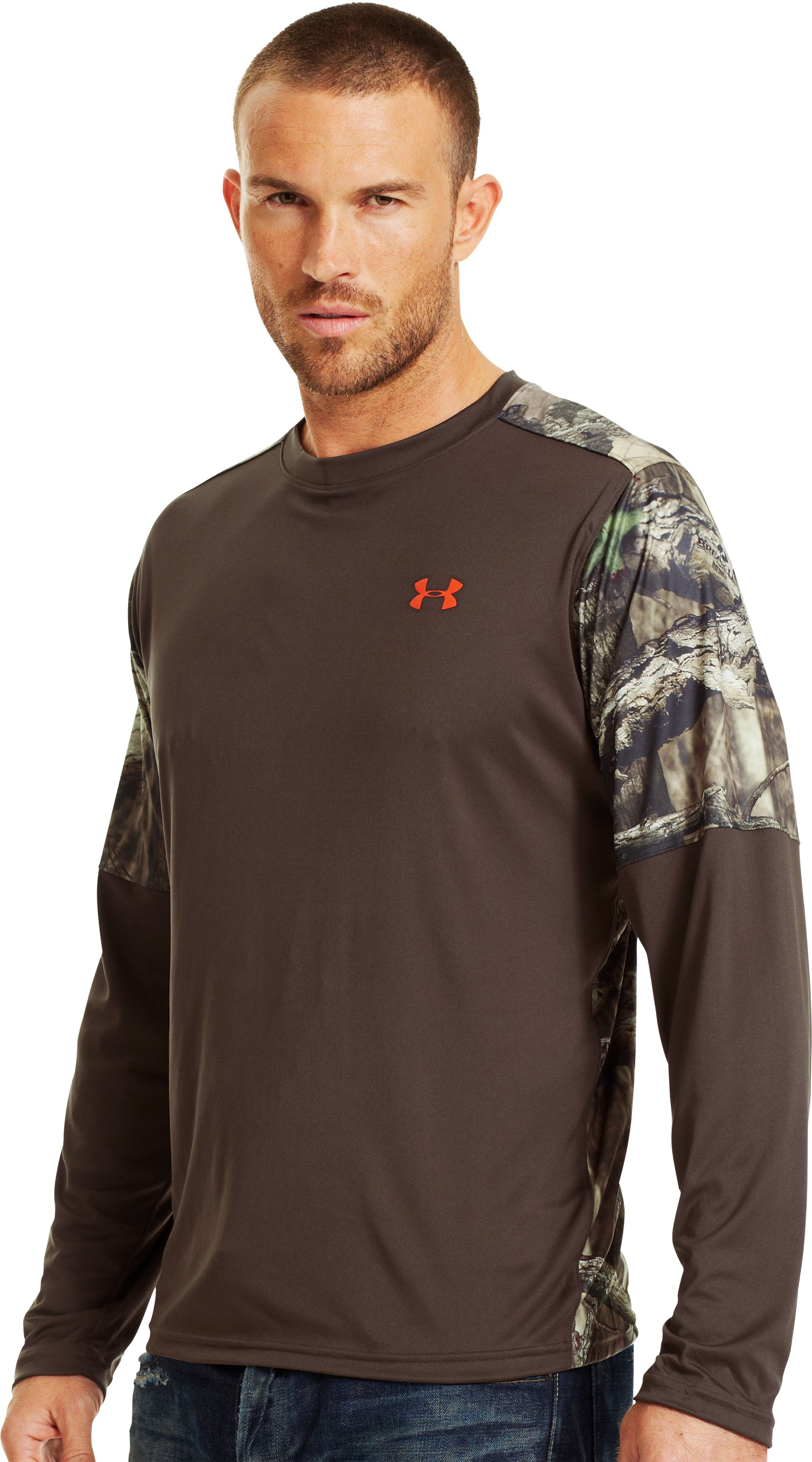 Men's Wylie Long Sleeve Hunting Shirt, Timber, zoomed image
