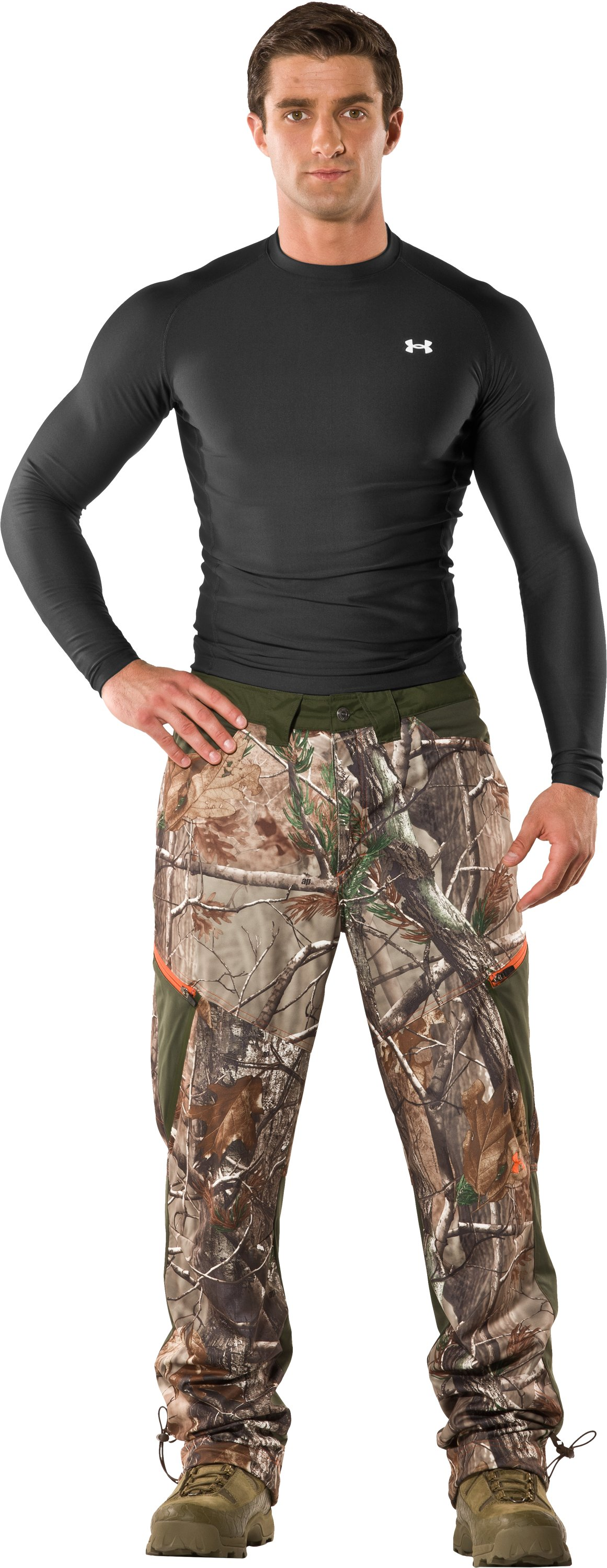 Men's UA Scent Control Early Season Hunting Pants, Realtree AP