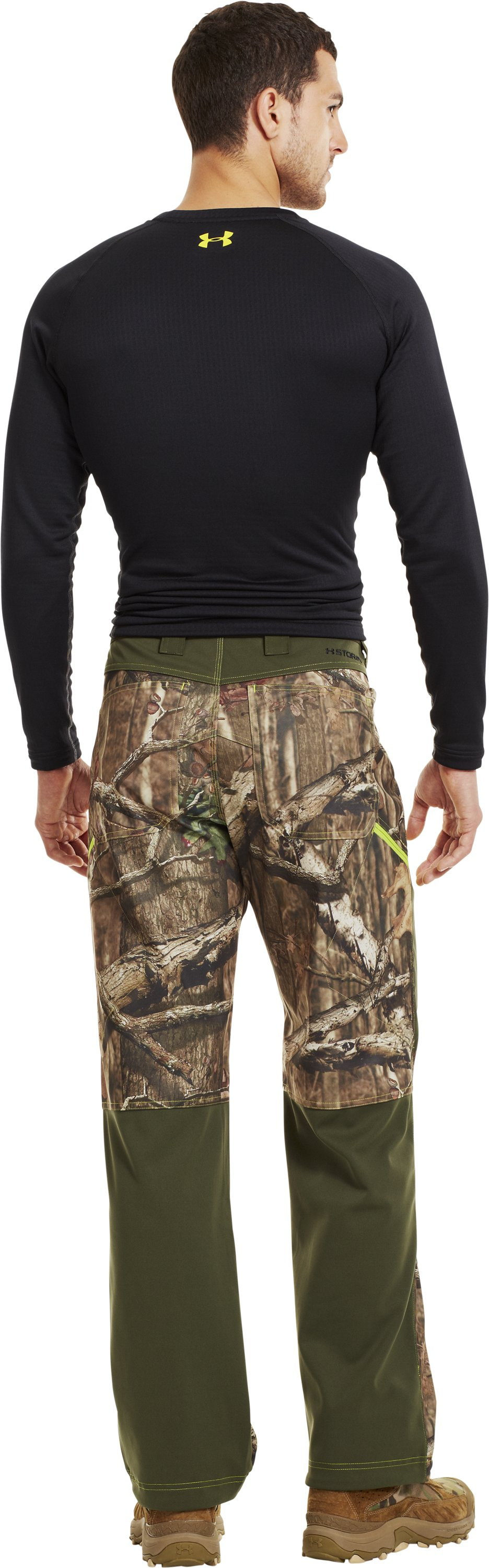 Men's UA Scent Control Early Season Hunting Pants, Mossy Oak Break-Up Infinity, Back