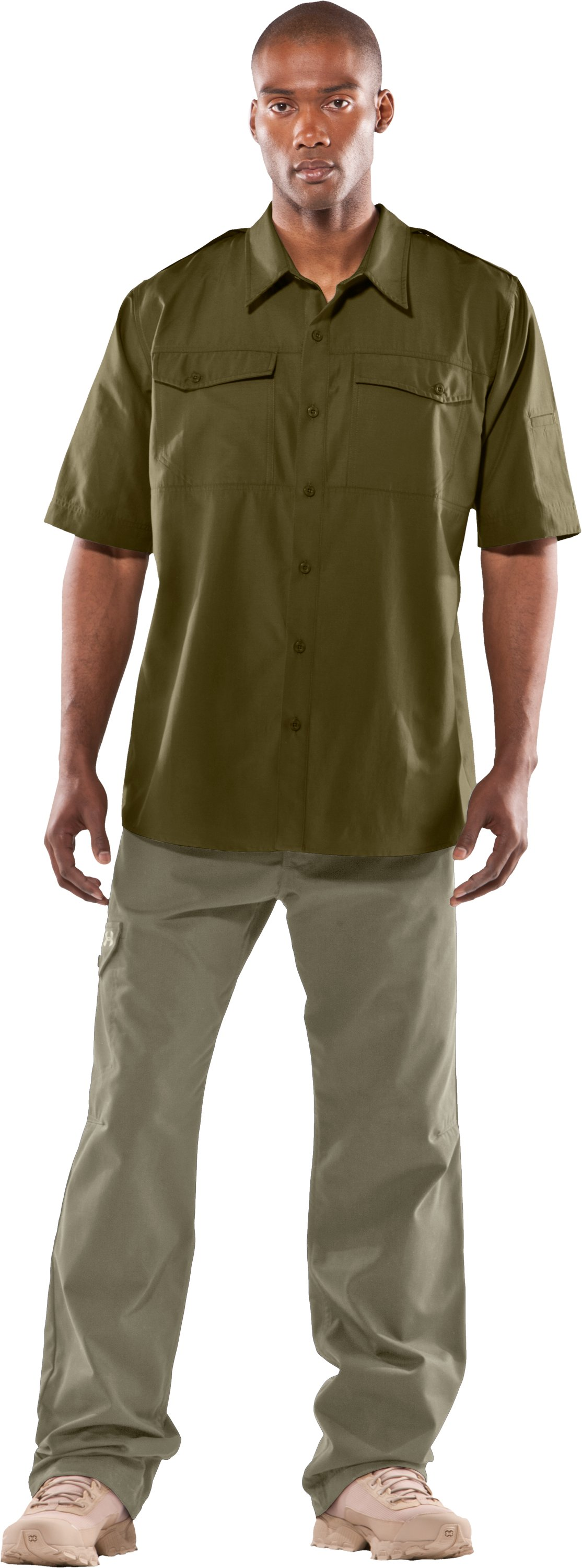 Men's Counter Short Sleeve Tactical Shirt, Marine OD Green