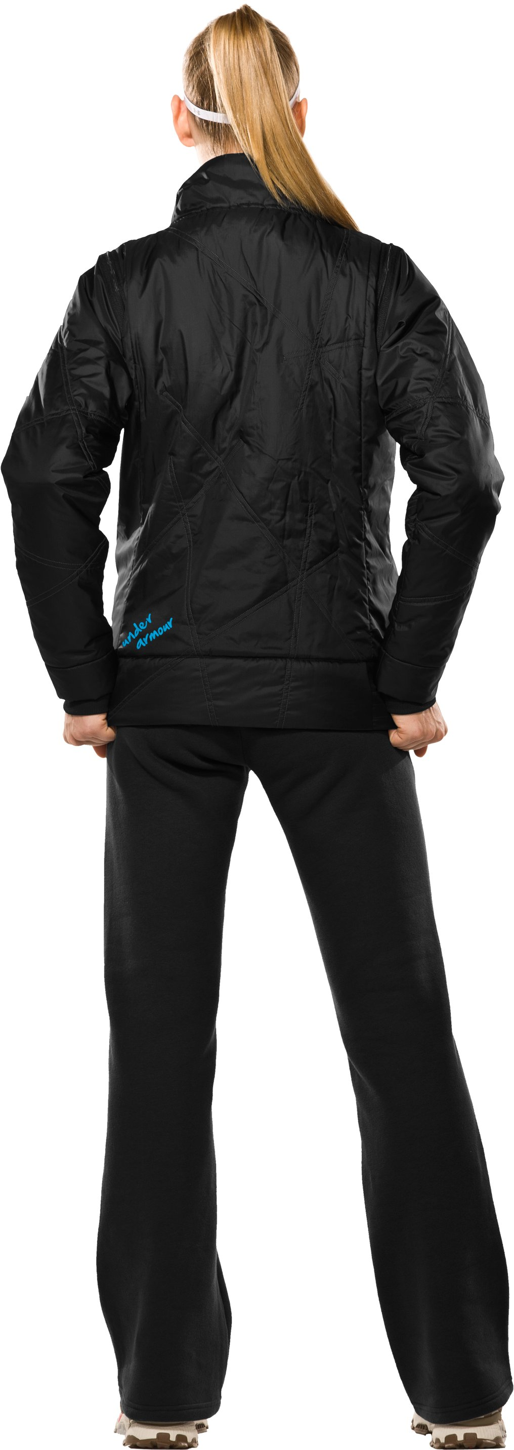 Women's Choice ArmourLoft® Jacket II, Black , Back