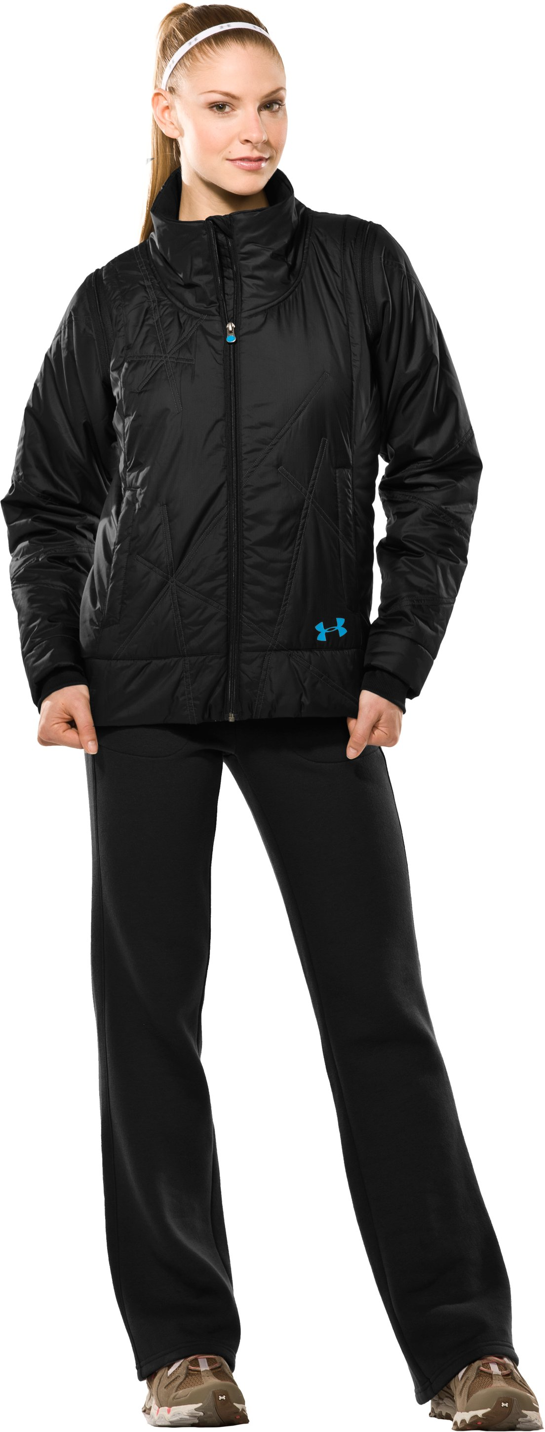 Women's Choice ArmourLoft® Jacket II, Black , Front