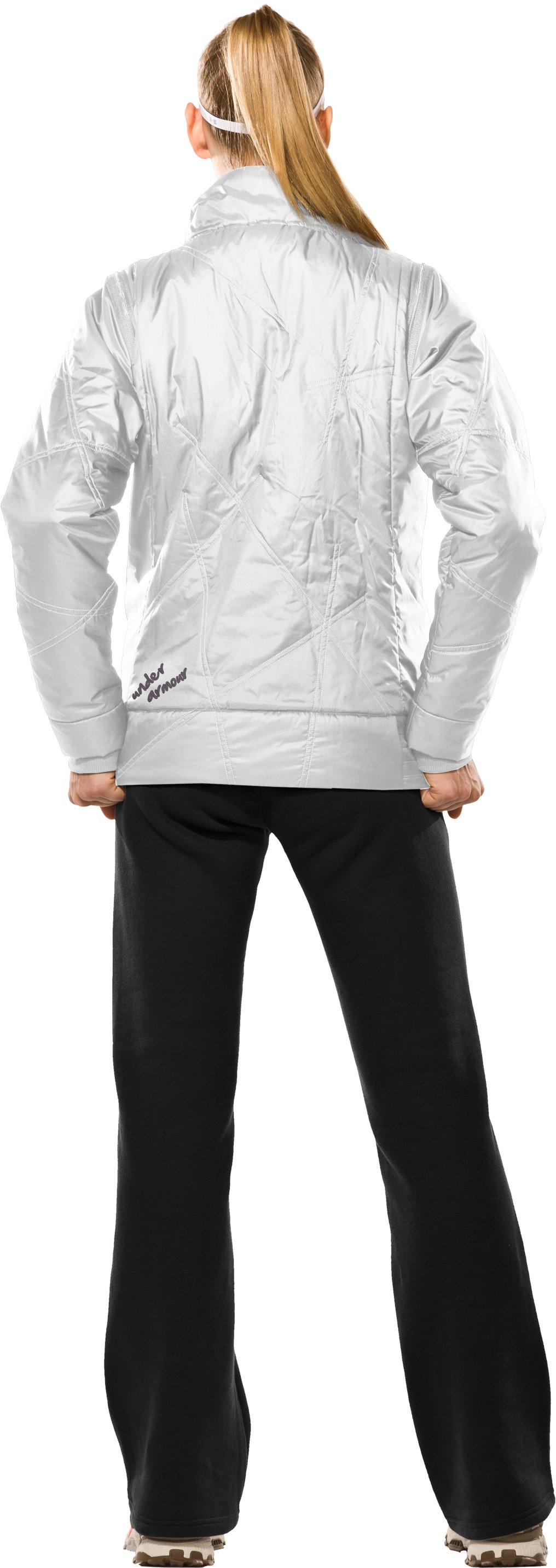 Women's Choice ArmourLoft® Jacket II, White, Back