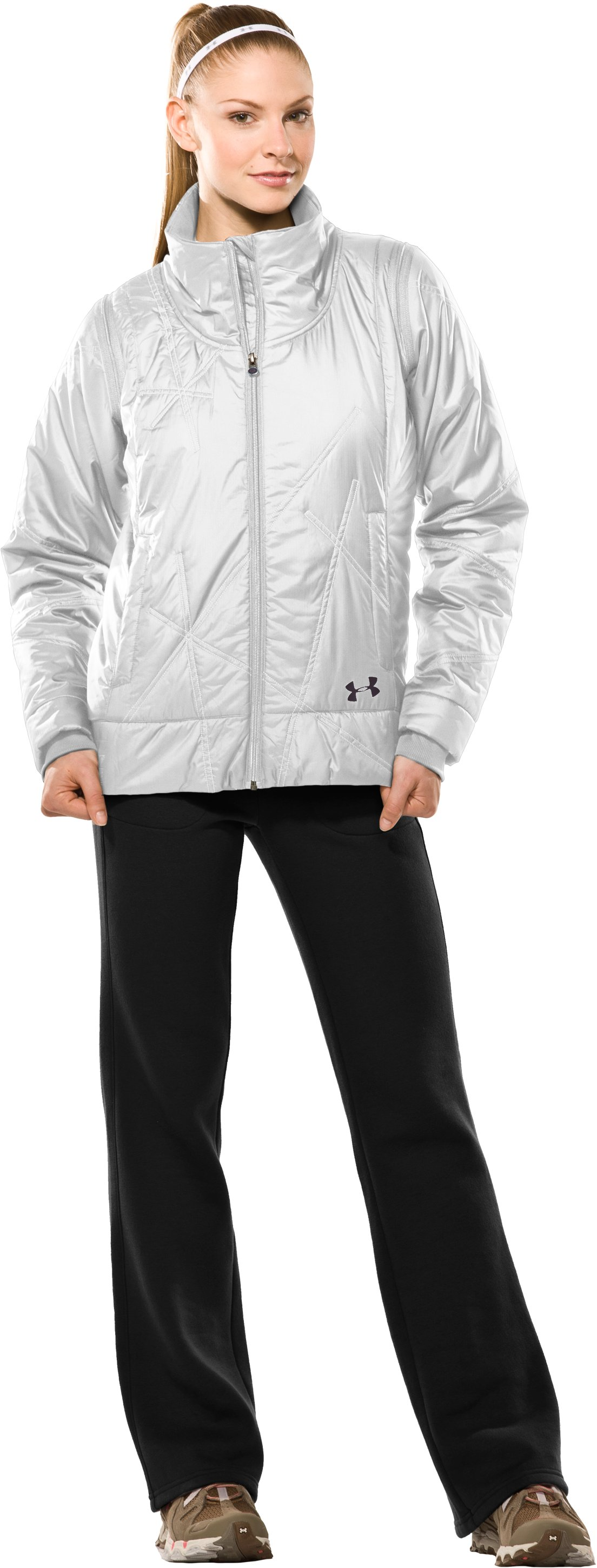 Women's Choice ArmourLoft® Jacket II, White, Front