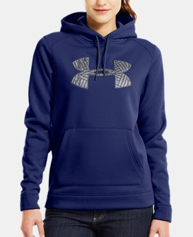 Women's UA Storm Tackle Twill Hoodie  1 Color $38.99