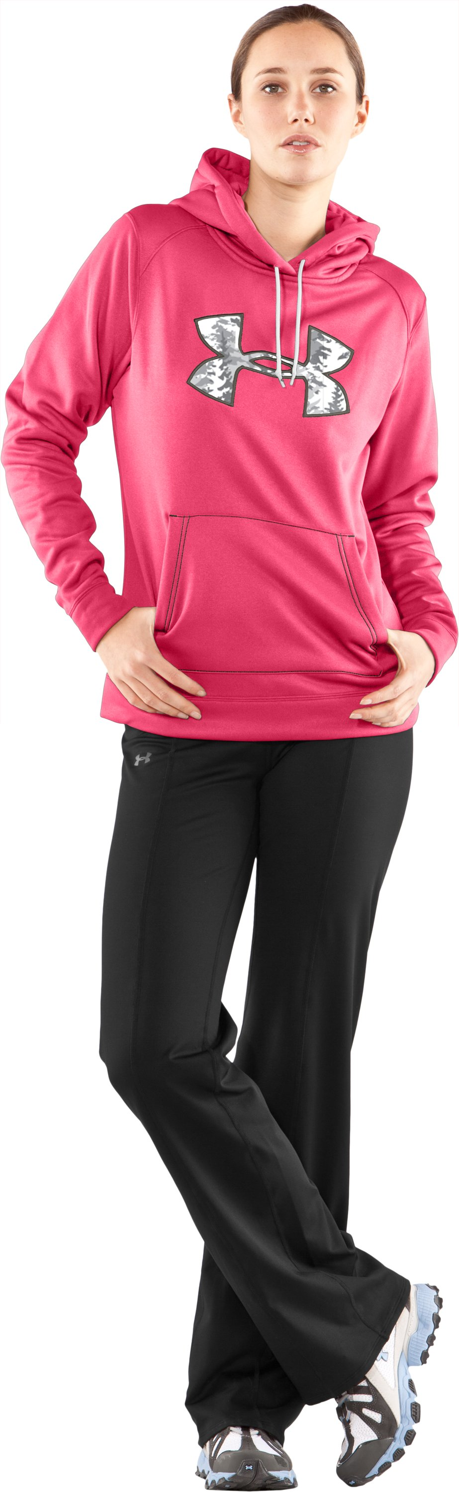 Women's UA Storm Tackle Twill Hoodie, Perfection, zoomed image