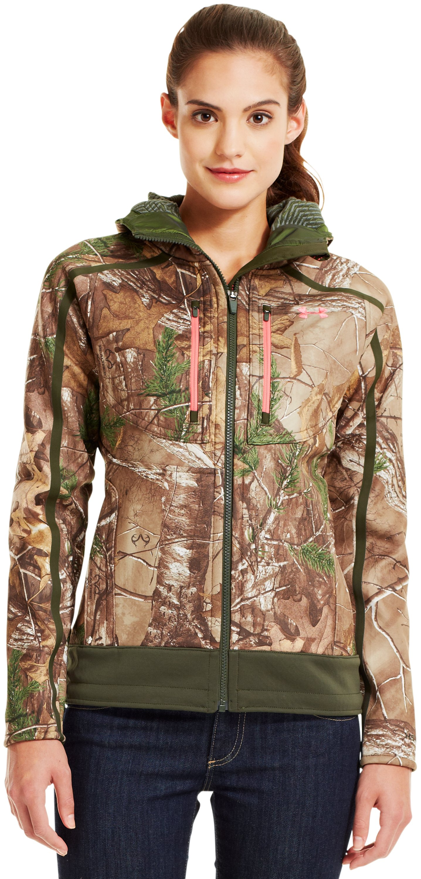 Women's Ridge Reaper® Hunting Jacket, REALTREE AP-XTRA, Front