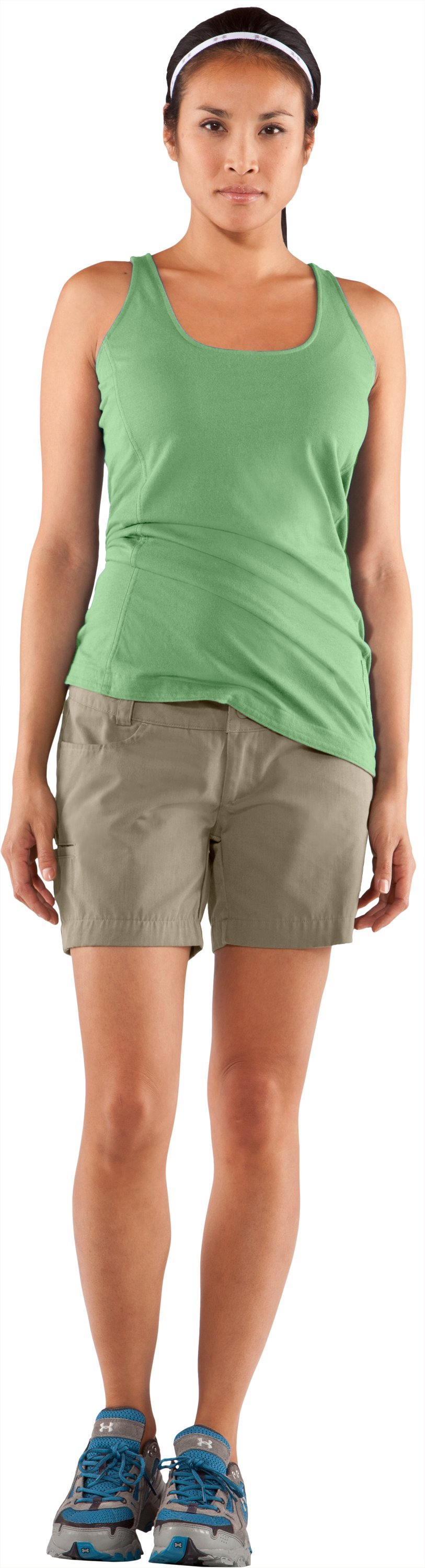 "Women's Calvert 5"" Hiking Short, Dune, zoomed image"