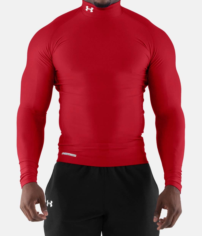 Mens Short Sleeve Mock Neck Shirts