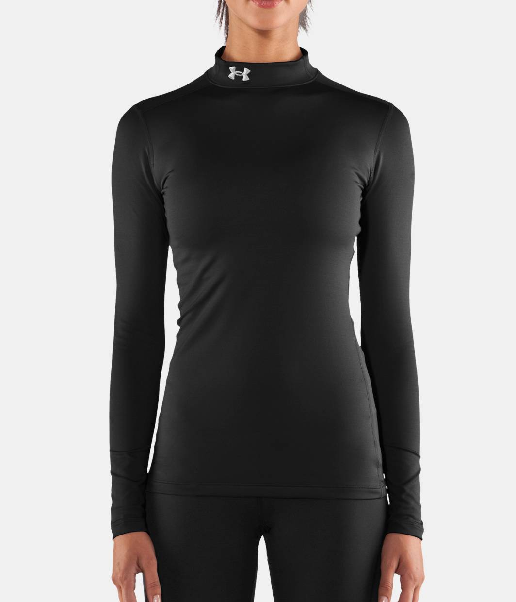Women S Ua Coldgear Long Sleeve Compression Mock Under