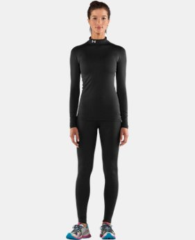 Women's UA ColdGear® Long Sleeve Compression Mock   $44.99