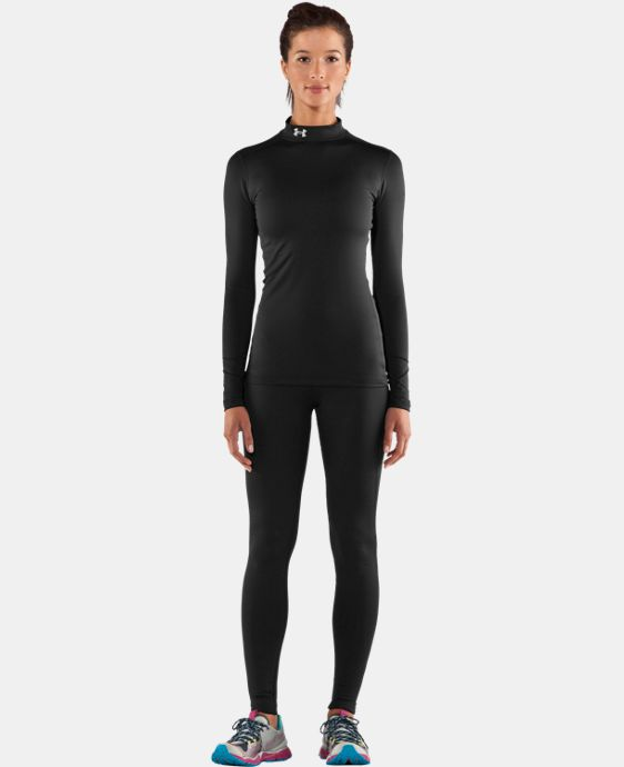 Women's UA ColdGear® Long Sleeve Compression Mock LIMITED TIME: FREE U.S. SHIPPING 2 Colors $37.49