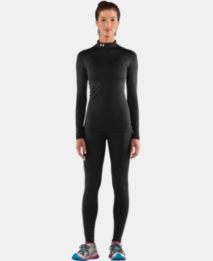 Women's UA ColdGear® Long Sleeve Compression Mock LIMITED TIME OFFER + FREE U.S. SHIPPING 1 Color $37.49