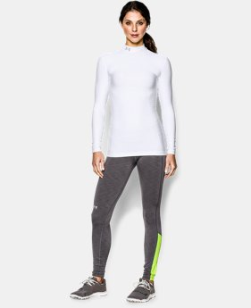 New Arrival  Women's UA ColdGear® Long Sleeve Compression Mock LIMITED TIME: FREE SHIPPING 2 Colors $59.99