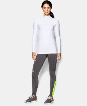 Women's UA ColdGear® Long Sleeve Compression Mock LIMITED TIME: FREE U.S. SHIPPING 1 Color $37.49