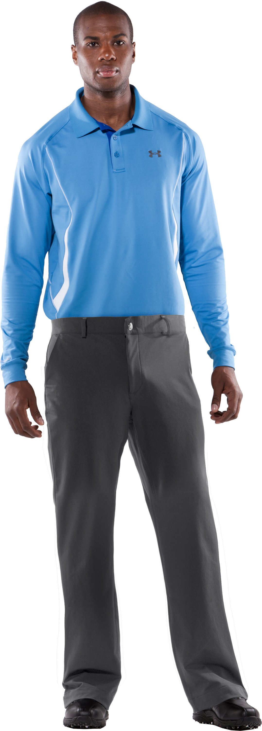 Men's Water-Resistant ColdGear® Golf Pants 3.0, Graphite, zoomed image