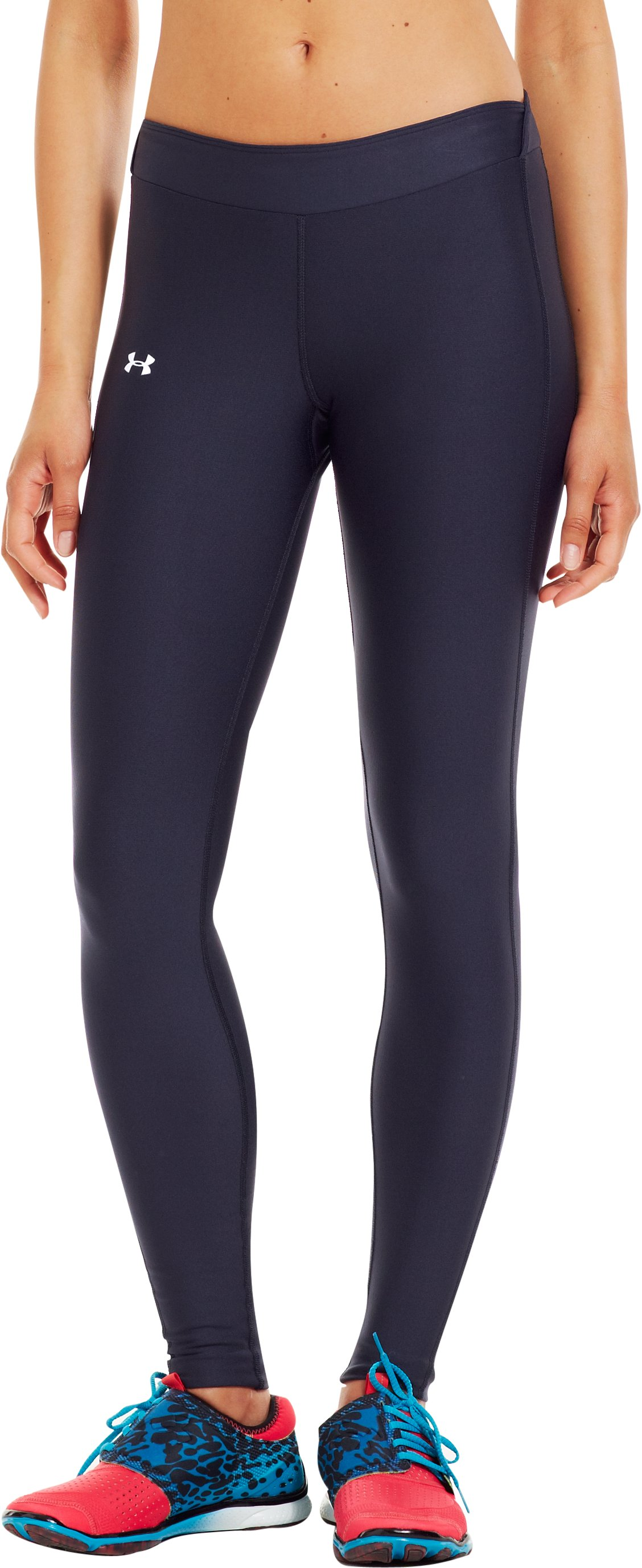 Women's UA ColdGear® Compression Leggings, Midnight Navy