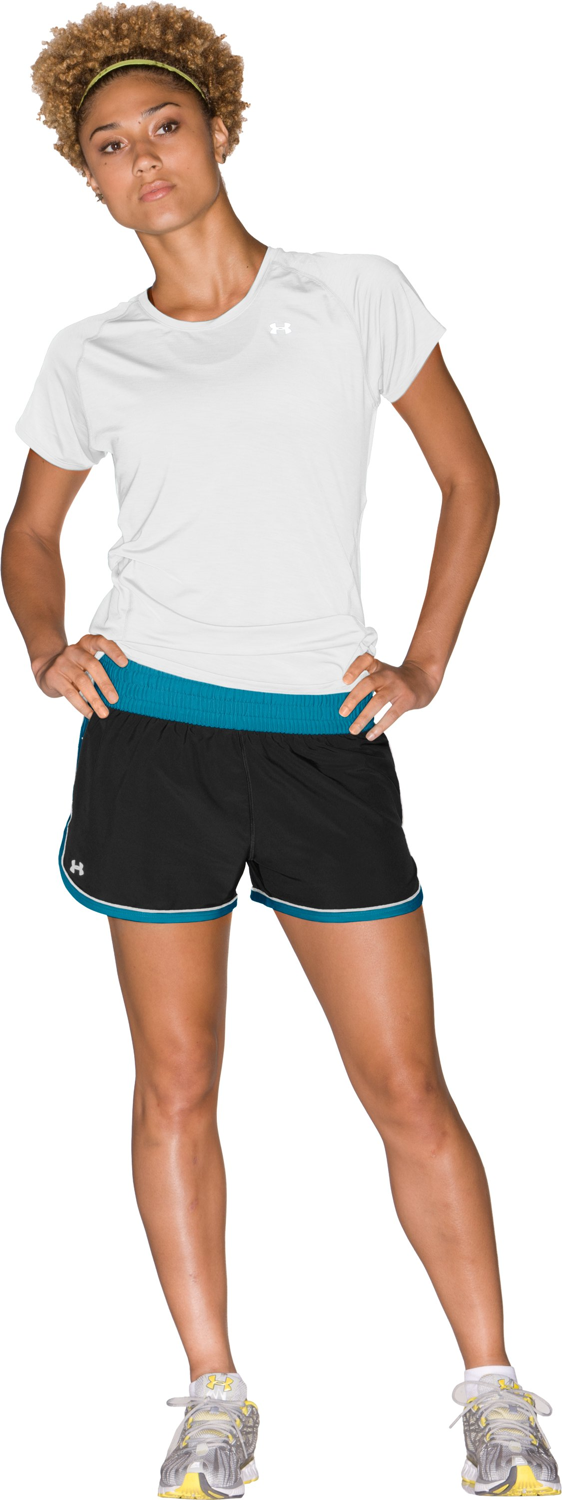 "Women's UA Great Escape 3"" Shorts, Black"