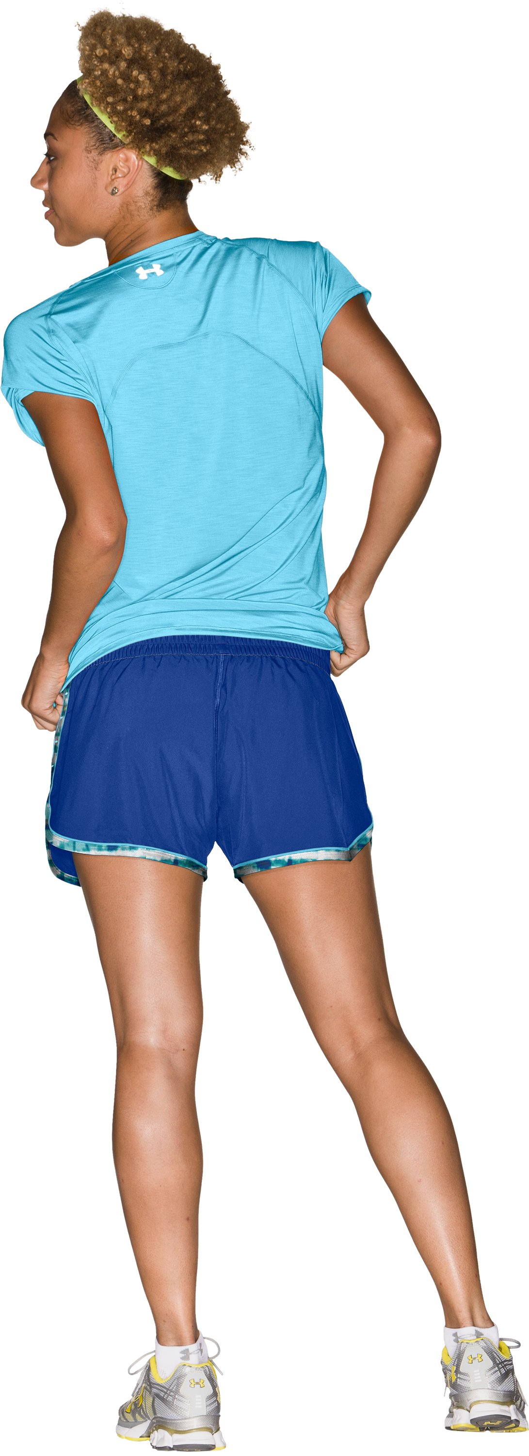 "Women's UA Great Escape 3"" Shorts, Wish, Back"