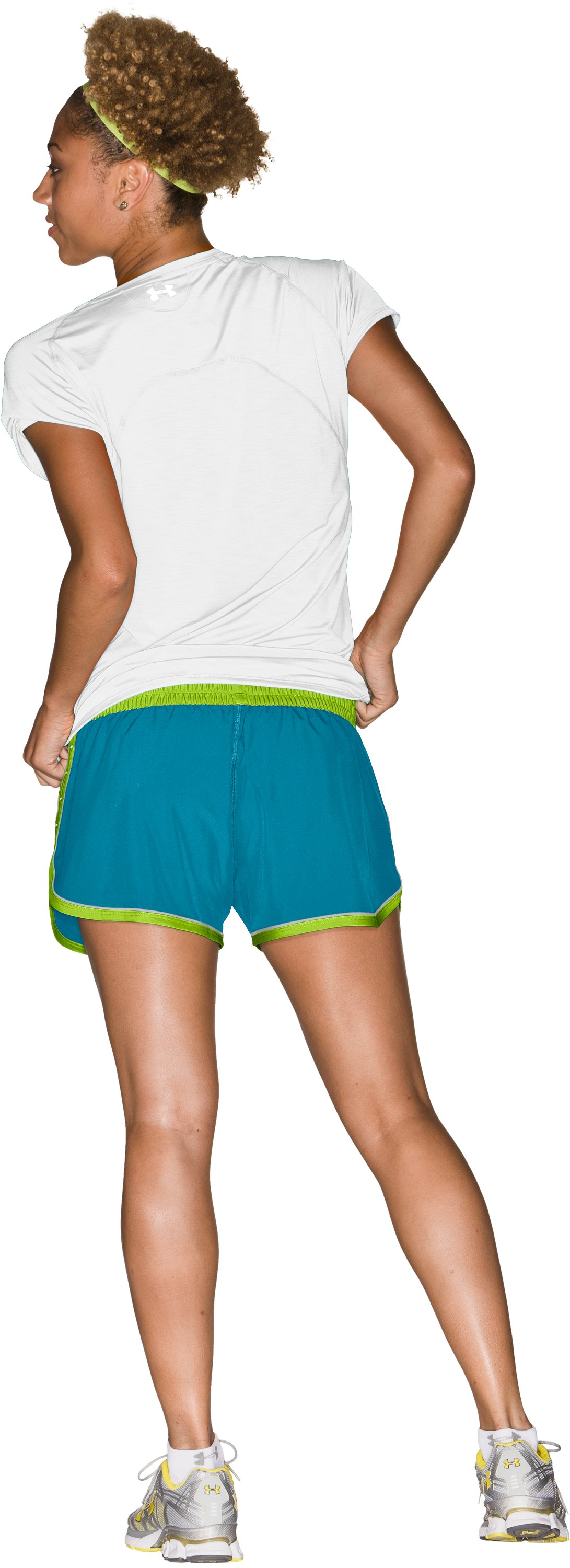 "Women's UA Great Escape 3"" Shorts, Break, Back"