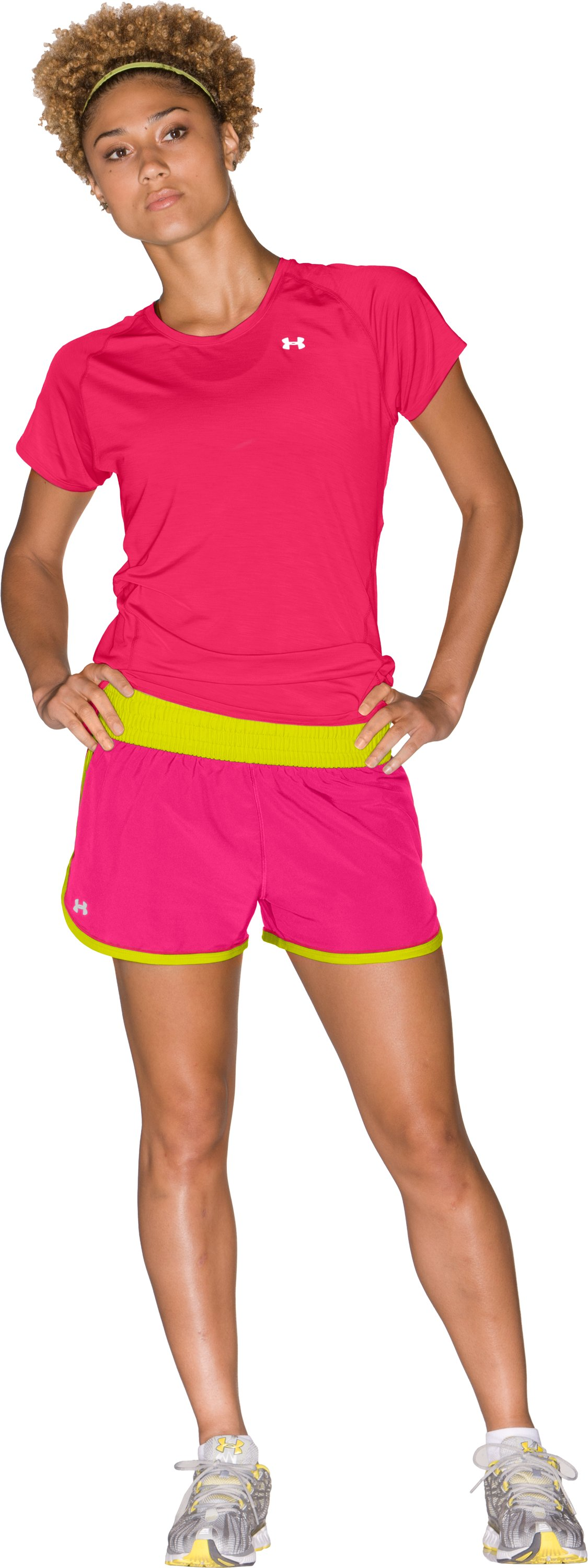 "Women's UA Great Escape 3"" Shorts, Cerise"
