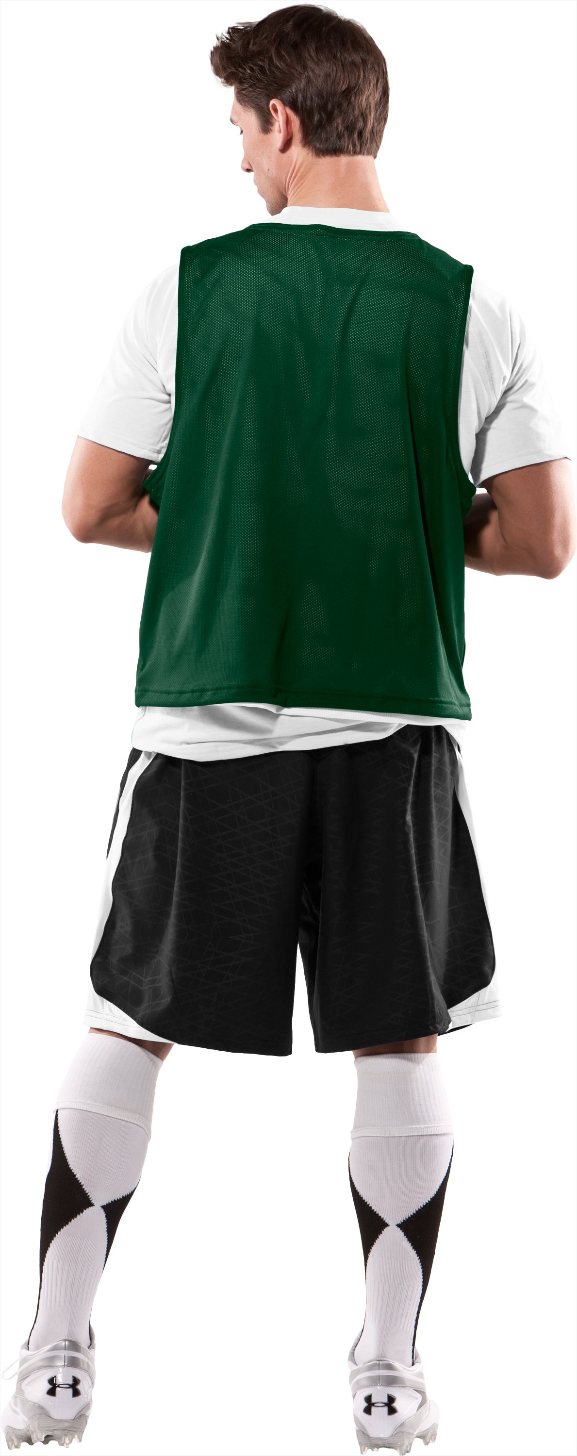 Men's Practice Jersey, Forest Green, Back