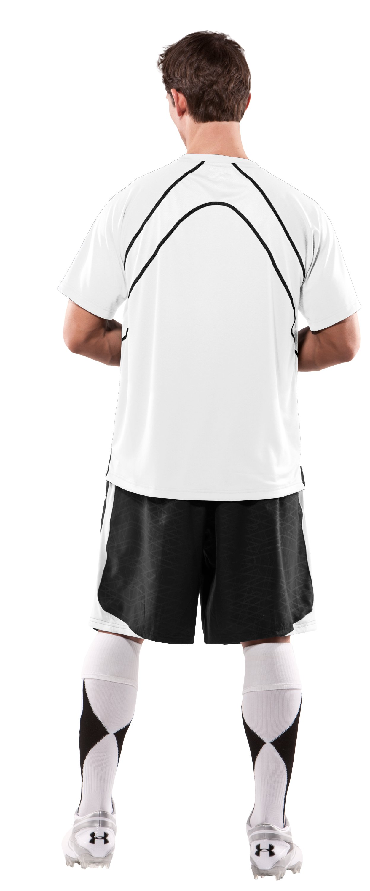 Men's UA Shooter Shirt, White, Back