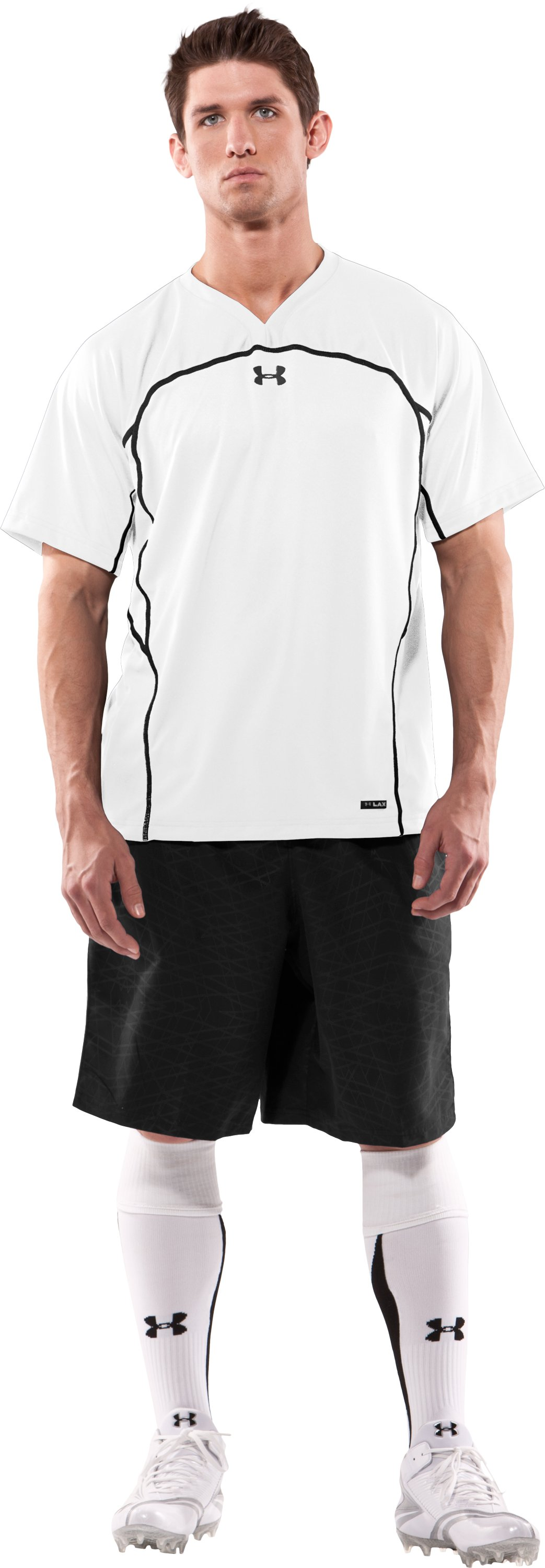 Men's UA Shooter Shirt, White, Front