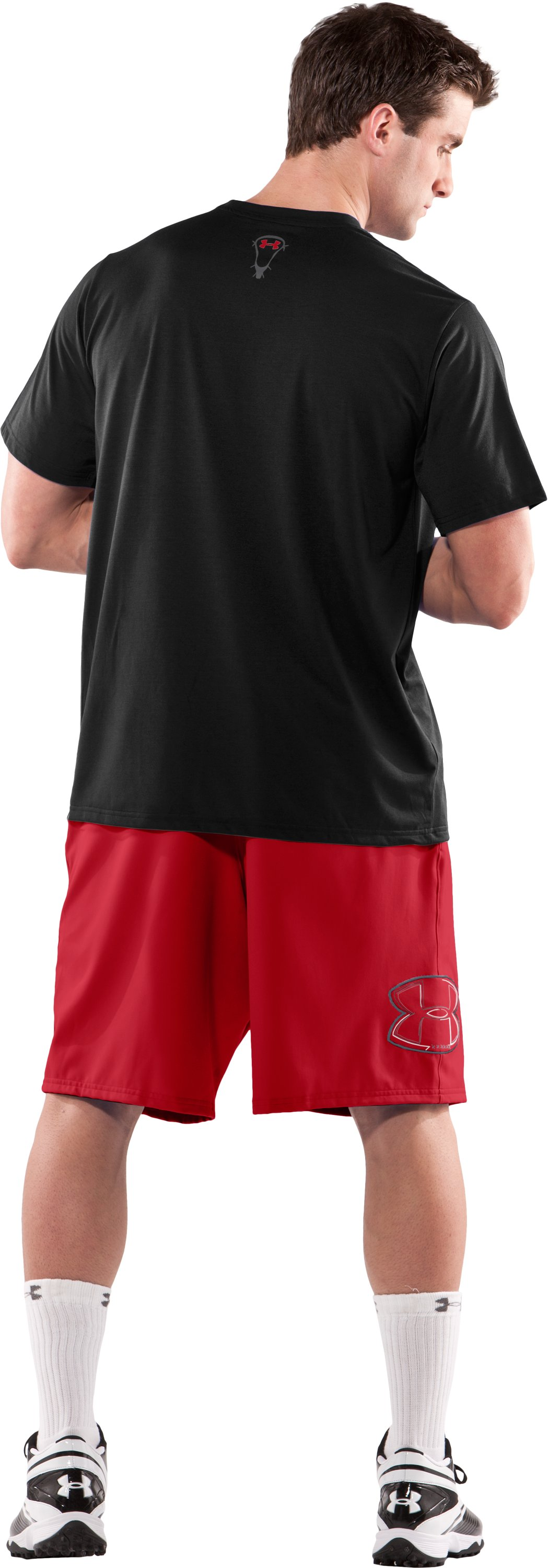 Men's UA Freestyle Shorts, Red, Back