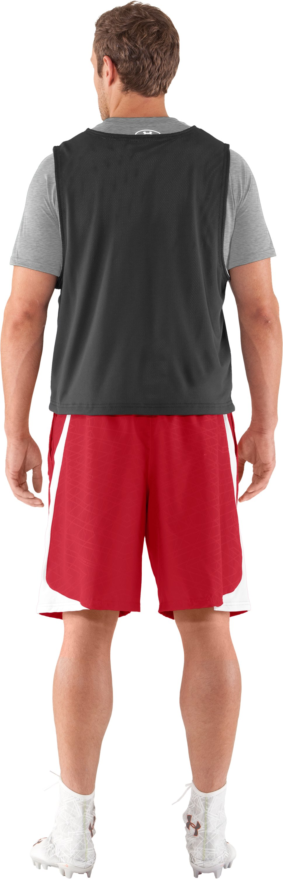 Men's UA Unity Shorts, Red, Back