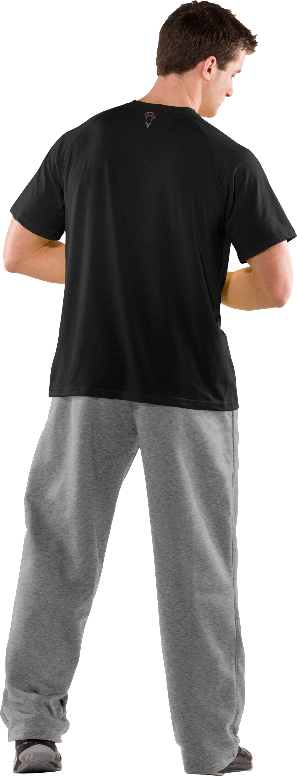 Men's Baltiflage Lacrosse UA Tech™ T-Shirt, Black , Back