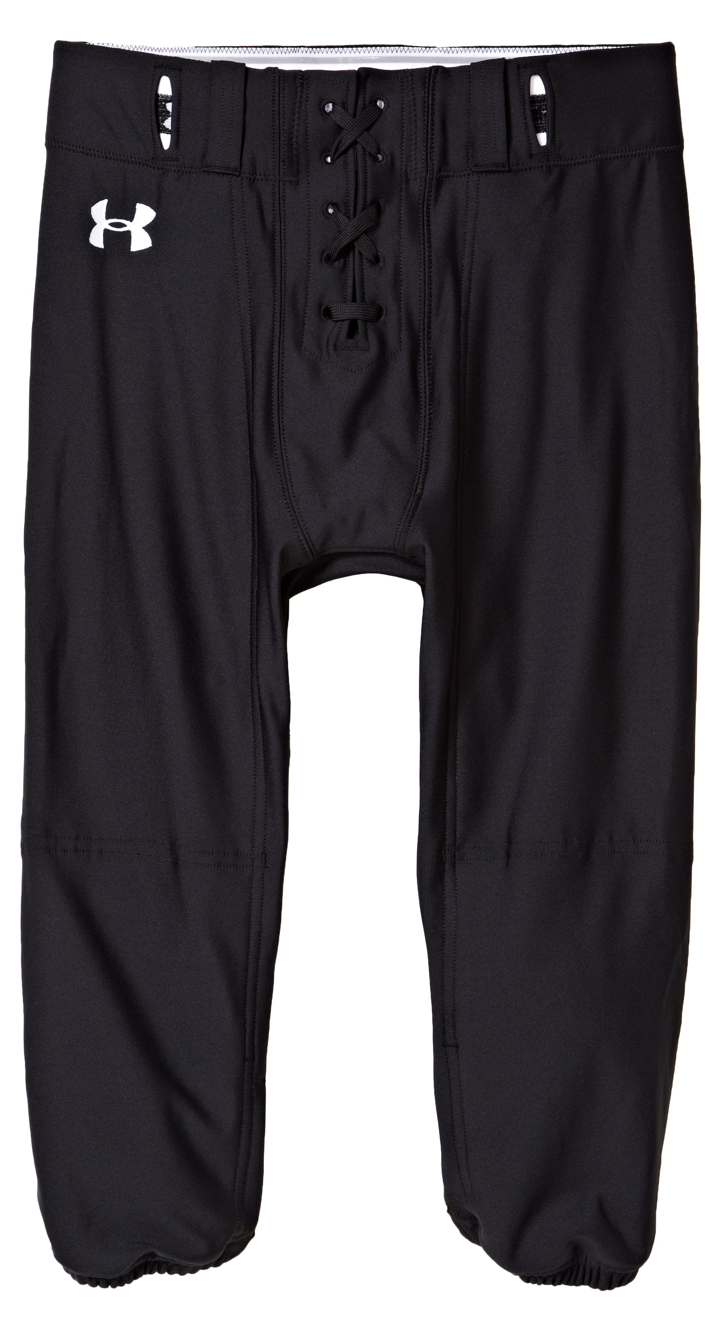 Men's Signature Football Pants, Black , Laydown