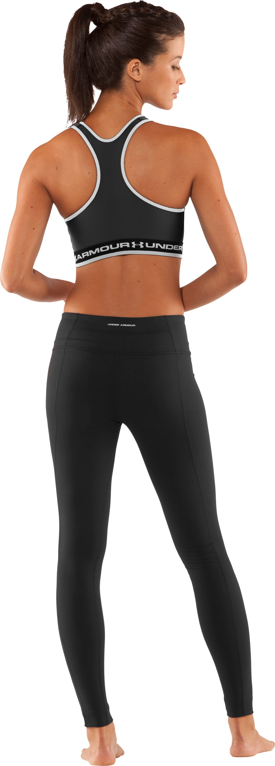 Women's UA Gotta Have It Sports Bra, Black , Back