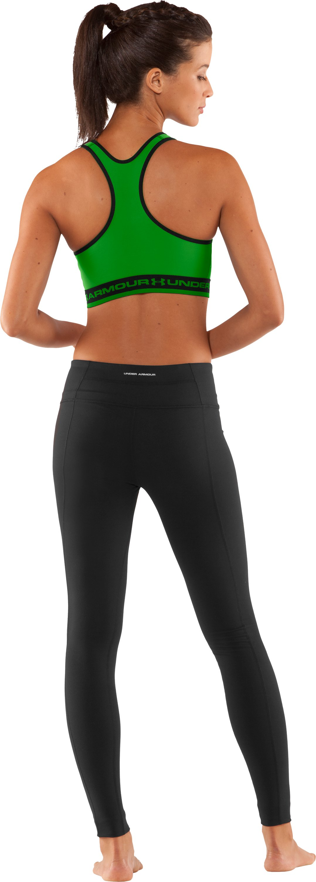 Women's UA Gotta Have It Sports Bra, Lizard, Back